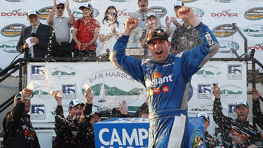 Johnny Sauter delivers at Dover for first truck win of 2017