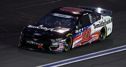 No. 10 Stewart-Haas Racing Ford to start from rear at Charlotte