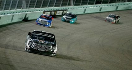 Raphael Lessard drives No. 4 Toyota Tundra to 11th-place finish at Homestead-Miami Speedway