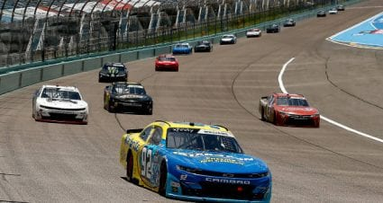 Josh Williams finishes 12th at Homestead-Miami Speedway