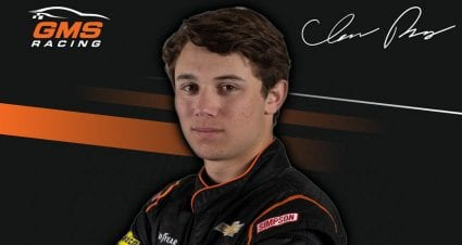 Chase Purdy joins GMS Racing full time for 2021 season