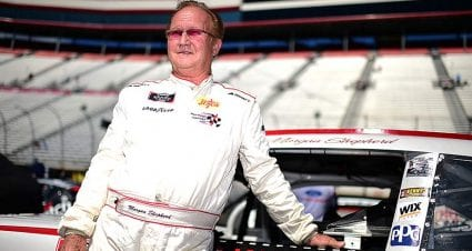 Morgan Shepherd diagnosed with early stage Parkinson's disease