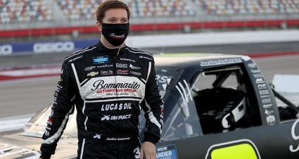 Jordan Anderson gets engaged to Larry McReynolds' daughter