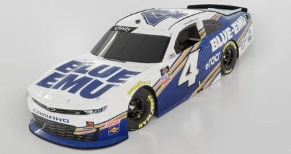 Landon Cassill to return full-time with JD Motorsports; Blue-Emu scheme gives nod to iRacing