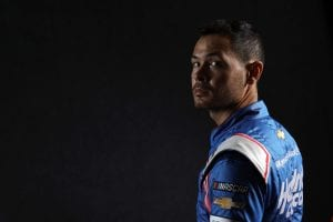 CHARLOTTE, NORTH CAROLINA - JANUARY 20: NASCAR driver Kyle Larson poses for a photo during the 2021 NASCAR Production Days at FOX Sports Studios on January 20, 2021 in Charlotte, North Carolina. (Photo by Jared C. Tilton/Getty Images) | Getty Images