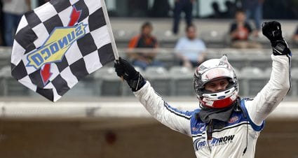 Gilliland takes command late to win Truck Series' inaugural race at COTA