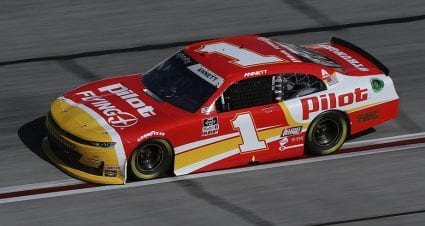 Austin Dillon places 11th as late-hour sub for Annett in JRM's No. 1 Chevrolet at Atlanta