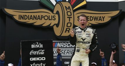 Allmendinger scores Cup victory in wild finish at Indianapolis Road Course