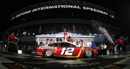 Playoff momentum: Ryan Blaney rounding into roles as team leader, title contender