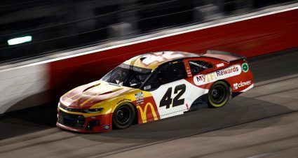 Chastain: 'Really cool' to mirror speed of Larson in third-place finish at Darlington