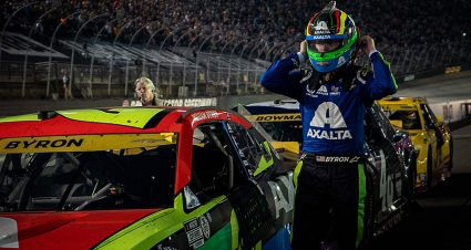 William Byron finds relief in Bristol rally, advances in Cup Playoffs; Almirola, Reddick fade out